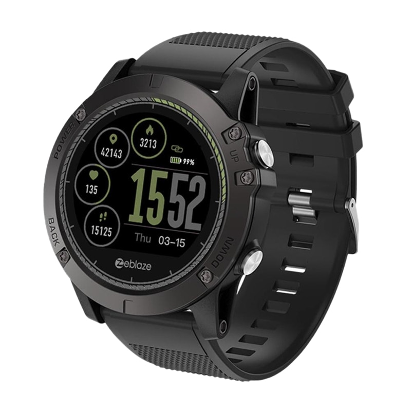 HOT-Zeblaze VIBE 3 Smart Watch IPS HR Color Display Heart Rate Monitor Sports Smart Watch for IOS Android