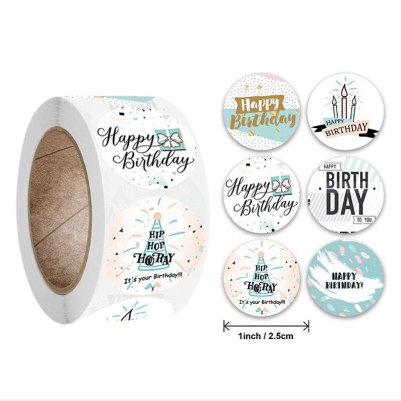 adesivi-sigillanti-regalo-grazie-design-diario-scrapbooking-adesivi-decorazioni-regalo-festa-di-compleanno-festival