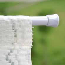 Teleskopowy karnisze prysznicowe karnisz rozsuwany regulowany 60-110cm okrągły wieszak sprężynowy produkt