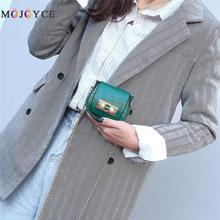 Mode Crocodile sac de messager femmes en cuir PU Mini sac à main chaîne dames sac à main selle rouge à lèvres sac PU matériel mode crocodi