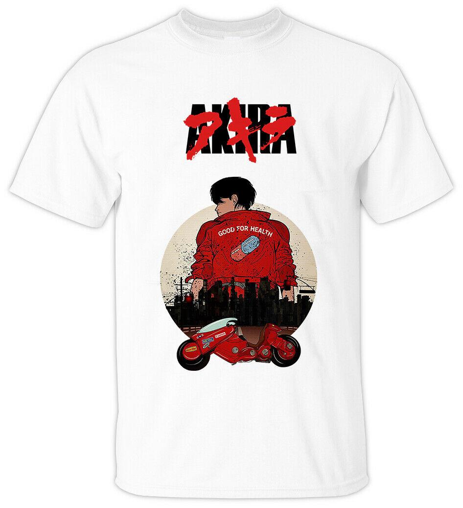 Anime camiseta de todos los tamaños de KIRA V3 katsuhero Otomo 1988 estilo de verano para hombres camiseta informal de moda corta con Logo