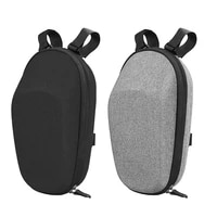 67ja durable folding bike waterproof storage bag double zipper and layered eva material packet for kick scooters