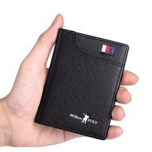 Men's Wallets Men's Wallets Thin Male Wallet Card Holder Cowskin Soft Mini Purses New Design Vintage