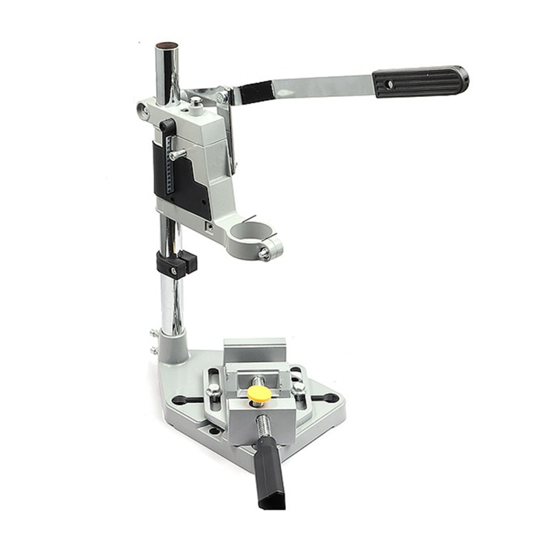 Electric Drill Bracket 400mm Drill Support Grinder Clamp Worktable Press Bracket Clamp Grinder Woodworking Rotary Tool