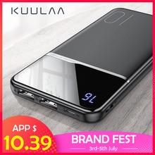 KUULAA batterie externe 10000 mAh chargeur portatif 10000 mAh USB batterie externe chargeur pour Xiaomi Mi 9 8 iPhone