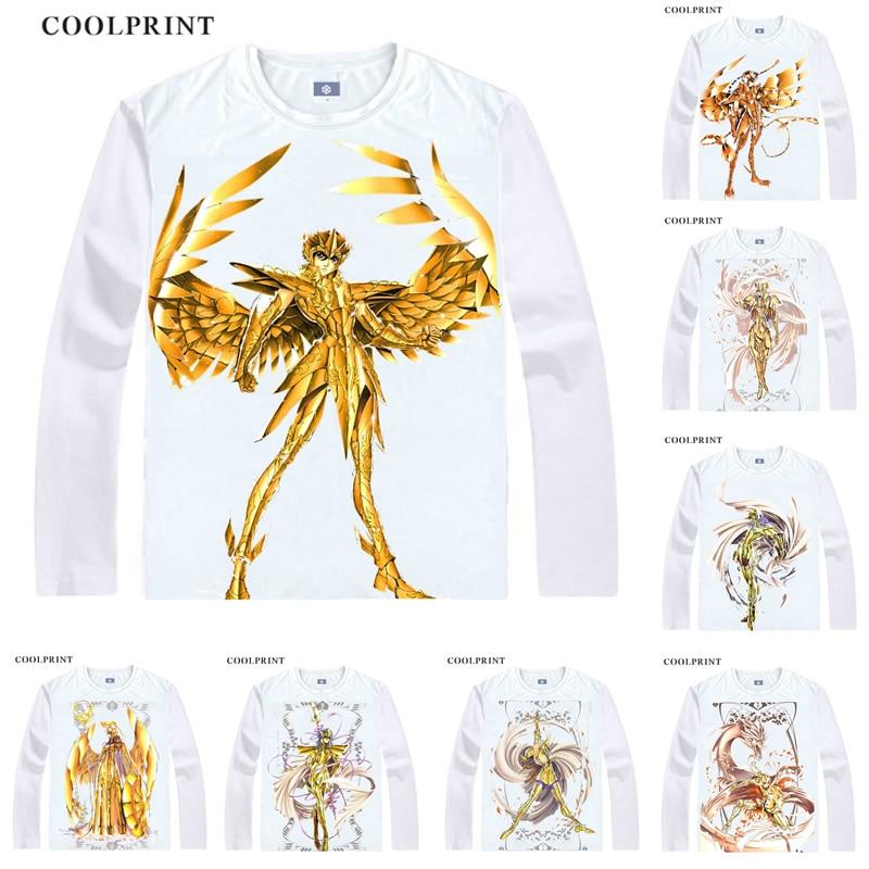 Futuro saint seiya saga sagrada pegasus gemini virgo anime cosplay camisas feitas sob encomenda tanque superior mangas compridas cabido impresso moda