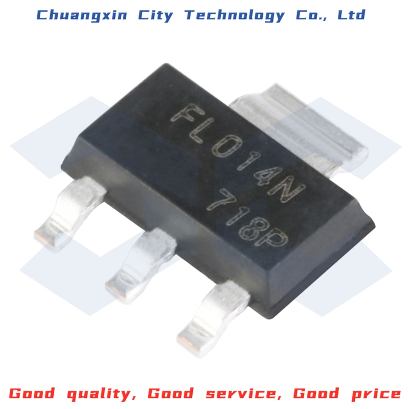 10PCS 100% New&Original IRFL014NTRPBF SOT-223 N channel 55V/1.9A MOSFET Integrated circuit chip IC 10pcs mk484 484 to92 new measurement circuit ic am radio receiver