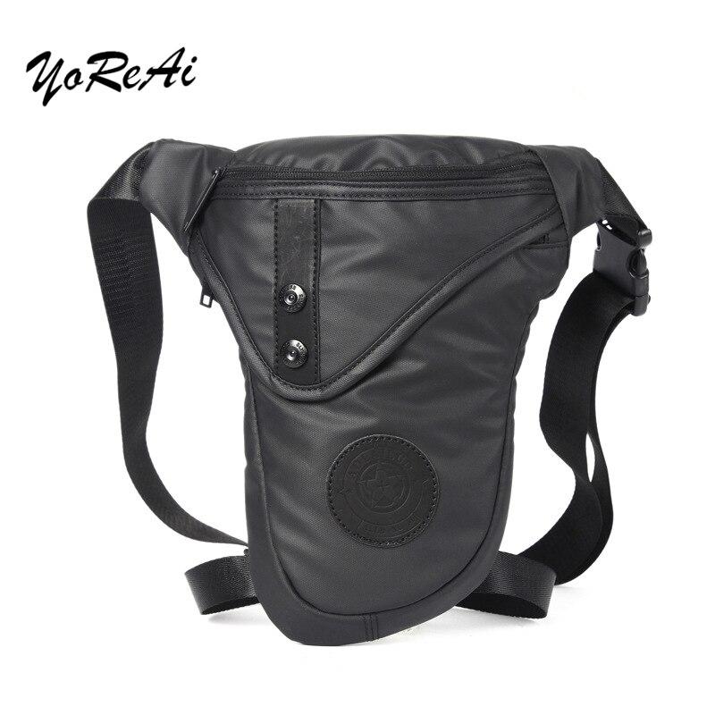 Multi-functional Men's Bag Crossbody Riding Waist Fanny Pack Waterproof Pockets Phone Drop Leg Packs Motorcycle Thigh Bags Hot