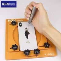 masterxu iphone back glass broken repair toool positioning clamp remove back cover glass for iphone with blasting pen