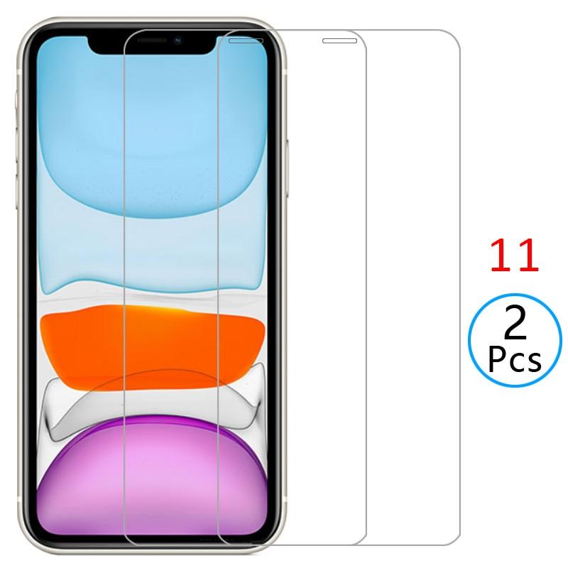Funda para iphone 11, cubierta de vidrio templado, protector de pantalla para iphone 11, funda protectora para iphone 11 6,1, armadura global aphone 360