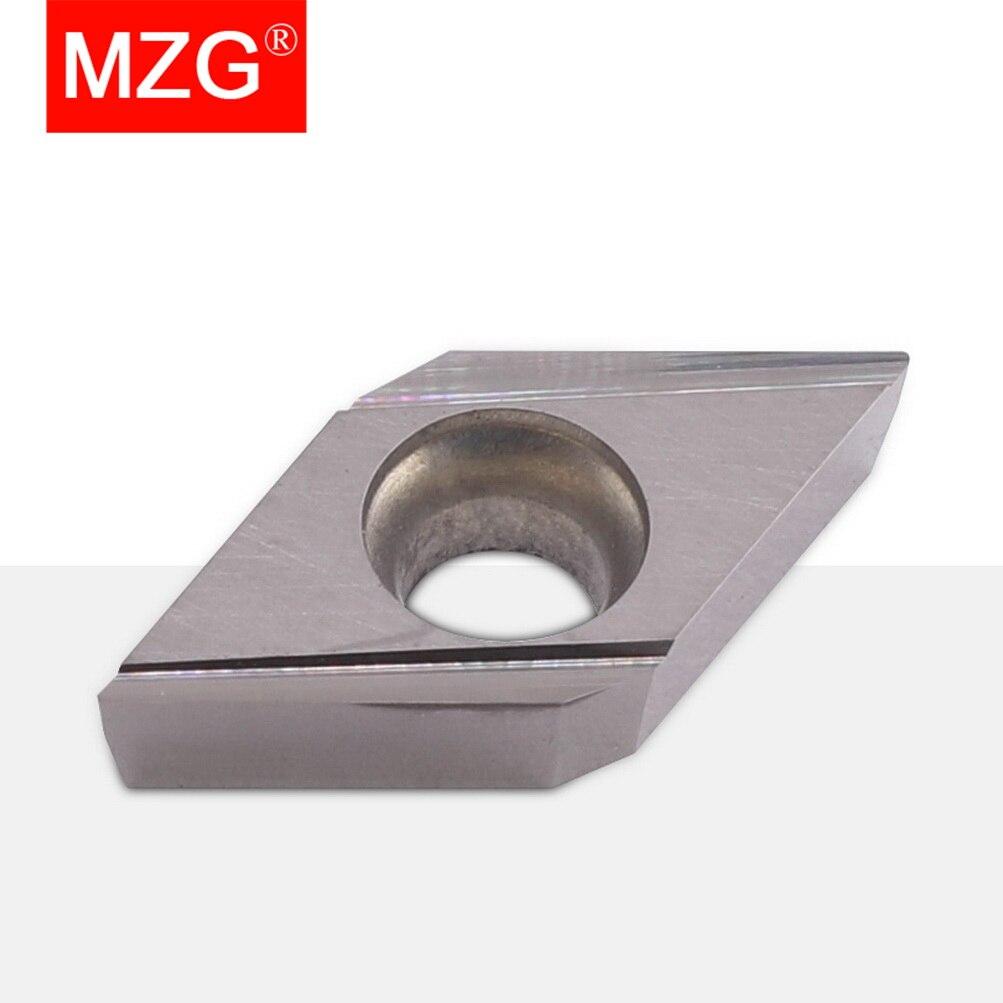 MZG DCGT 11T301 11T302 R-J ZM680 CNC قطع مملة تحول رأس تثبيت الملحقات الفولاذ المقاوم للصدأ معالجة فهرسة كربيد إدراج