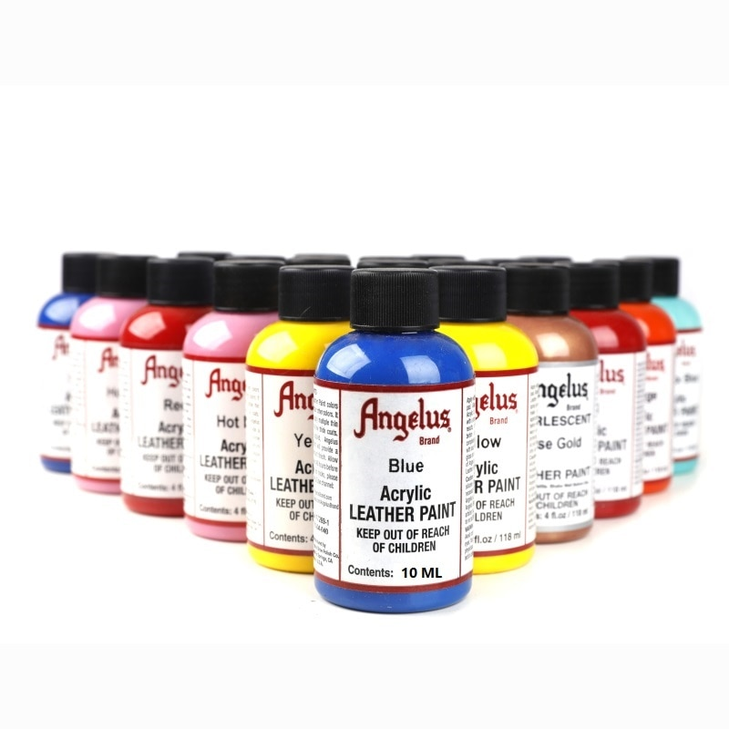 Angelus Hand Painted Graffiti Bag Shoes Leather Changed Custom-made Paint Without Fading 10ML Acryli