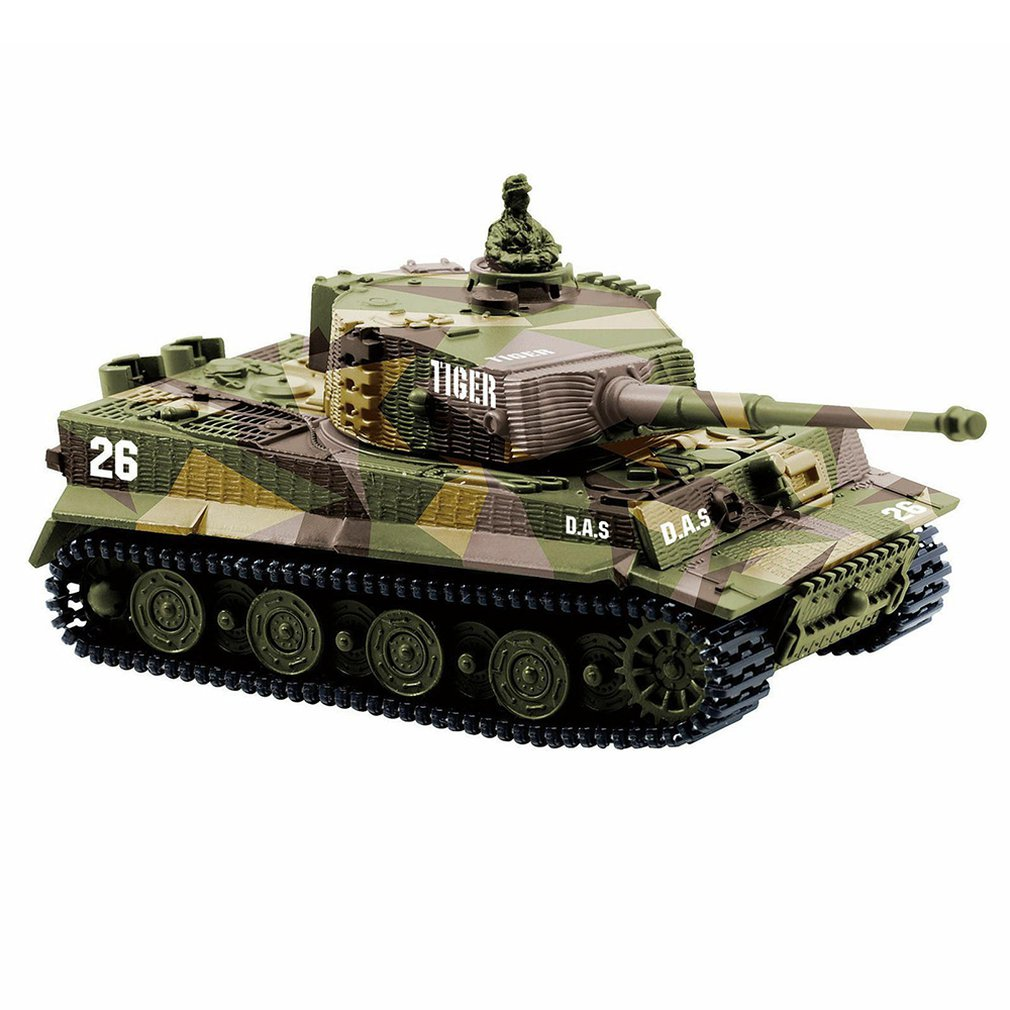 German Tiger Mini Remote Control Tank Car Charging Remote Control Car Toy Children's Intelligence Toys