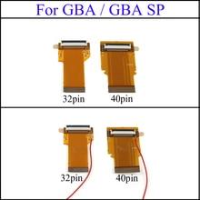 YuXi remplacement 32Pin 40 broches pour Gameboy avance MOD LCD rétro-éclairage câble ruban pour GBA SP rétro-éclairé écran Mod