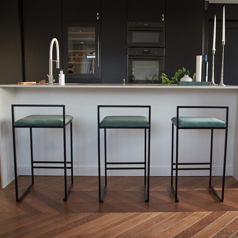 Nordic Bar Stools Fashion Modern Minimalist Bar High Bar Stool Home Personality Bar Chair Creative Design Chair 66cm seat height