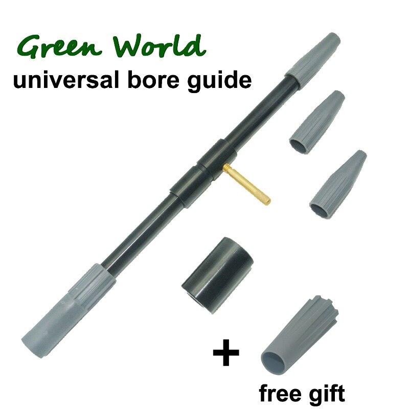 Green World 5 unids/lote guía de calibre Universal para rifle AR, cepillo limpieza de armas