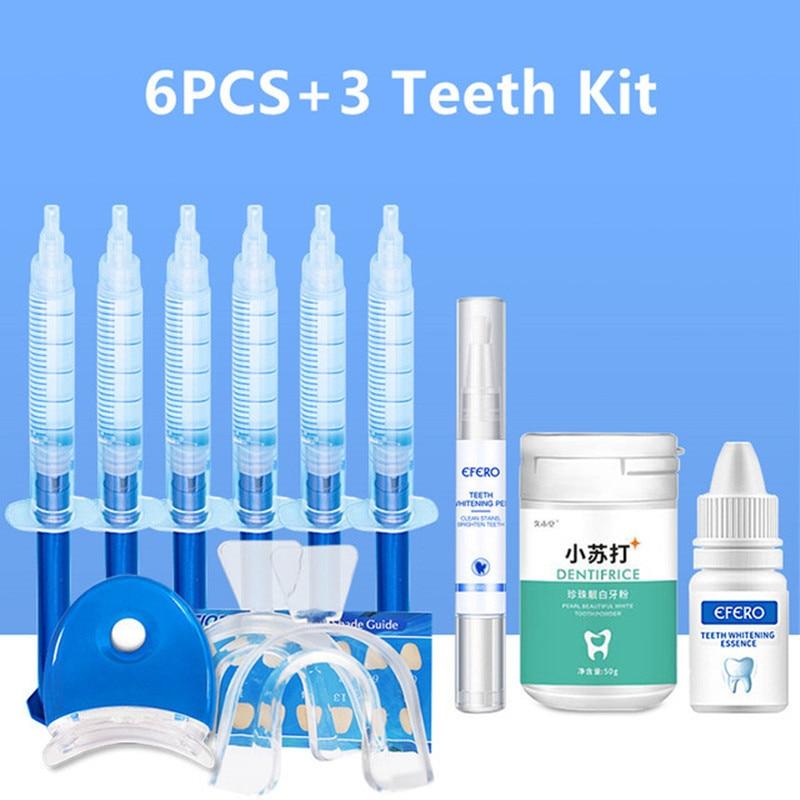 Oral Care Brightening Dental Equipment Teeth Whitening Gel Dental Peroxide Teeth Whitening Pen Essence Powder Kit