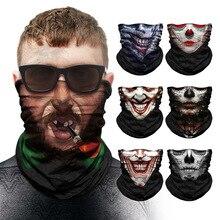 Joker sweat à capuche anime crâne sans couture cagoule Sport écharpe Heaewear extérieur Bandanas cyclisme randonnée pêche masque cou guêtre