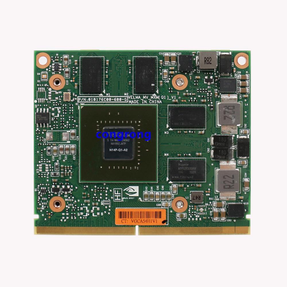 Tarjeta gráfica de vídeo Quadro K1000 GDDR3, 2GB, con soporte X, N14P-Q1-A2 para Dell M4700 M4800 de 8560W, 8570W y 8770W