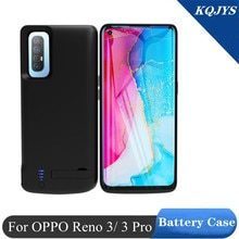 KQJYS  for OPPO Reno 3 Pro Battery Charger Case External Power Bank Charging Cover Power Case for OP