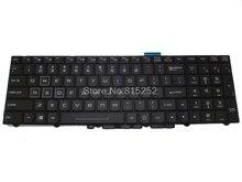 İngilizce arkadan aydınlatmalı klavye için CLEVO P750DM-G P751ZM P770ZM-G P771DM-G P771ZM P870DM amerika birleşik devletleri abd