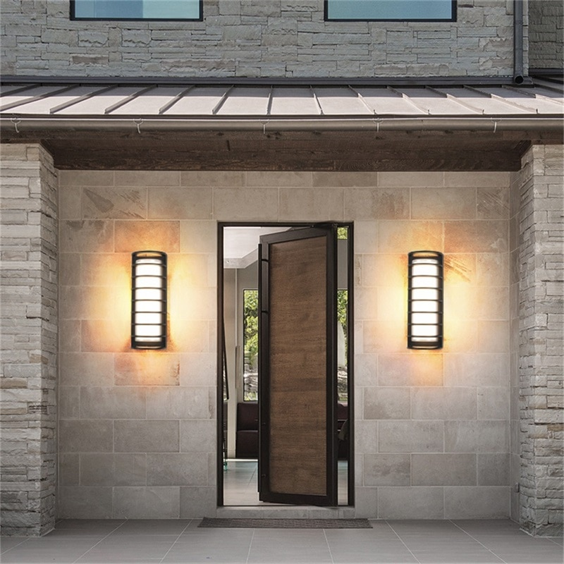 OUTELA Wall Sconces Light Outdoor Classical LED Lamp Waterproof IP65 Home Decorative For Porch Stairs enlarge
