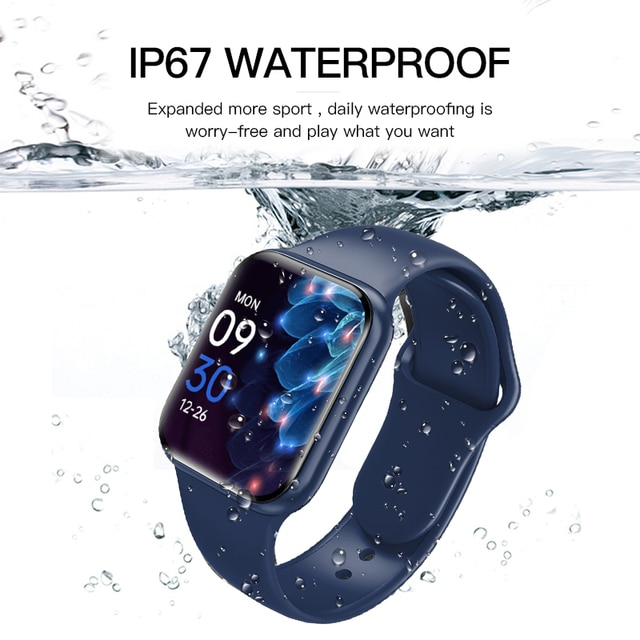 """Smart Watch For Men 1.57"""" Fitness Tracker Full Touch Bluetooth SmartWatch Women Heart Rate Monitor Clock Watches For iOS Android 6"""