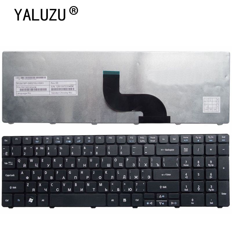 Фото - Russian Laptop Keyboard For Acer Aspire 5560G 5560 (15'') 5551 5551g 5552 5552g 5553 5553g 5625 5736 5739 5741 комплектующие и запчасти для ноутбуков acer aspire5742 5253 5253g 5336 5741 5551