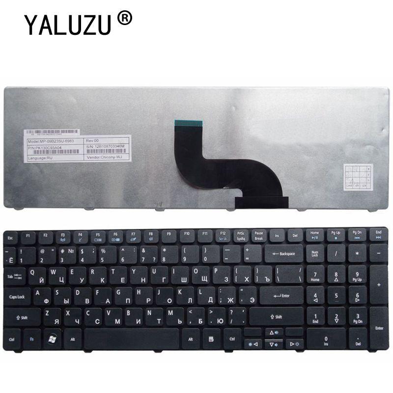 "YALUZU ruso teclado del ordenador portátil para Acer Aspire 5560G 5560 (15 "") 5551 de 5551g 5552g 5552g 5553G 5553g 5625, 5736, 5739, 5741"