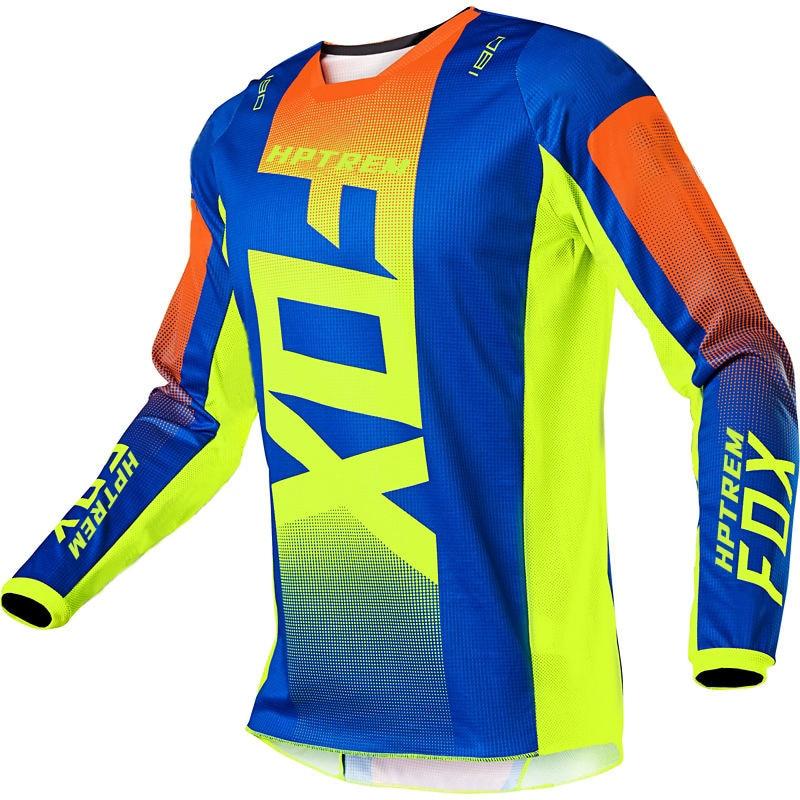 Maillot de ciclismo para hombre de camiseta de Motocross de secado rápido...