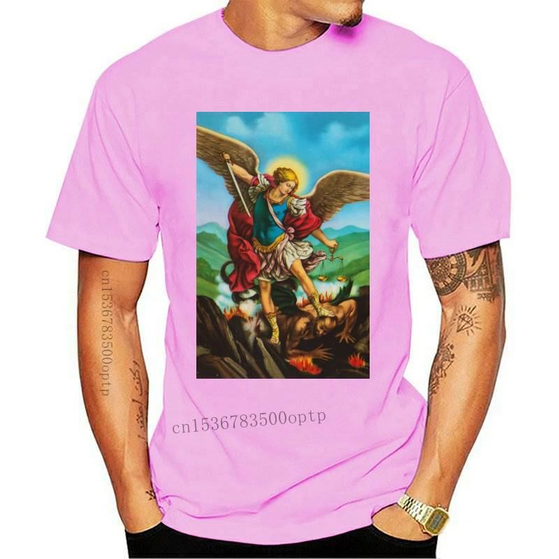 Camiseta de Saint Michael Sancte, camisa de Michael Arcángel, Zink, todas las...