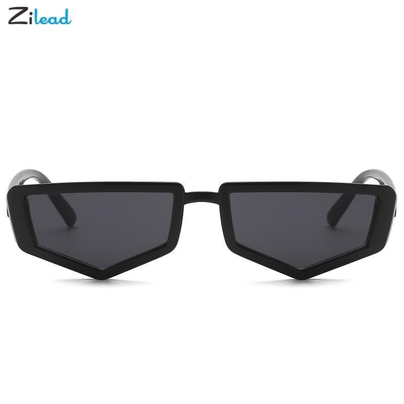 Zilead Sunglasses Cute Retro Small Frame Irregular Triangle Vintage Cheap Famle Eyeglasses Colorful