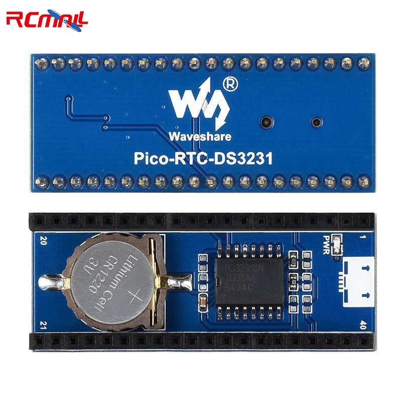 RCmall Precision RTC Module for Raspberry Pi Pico Chip DS3231 high precision ds3231 clock module at24c32 iic rtc real time memory module for arduino raspberry pi avr arm