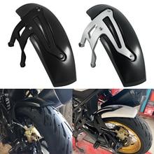 Motocicleta preto prata traseiro para bmw r1200gs roda hugger paralama respingo guarda para bmw r 1200 gs aventura lc 2013-2019