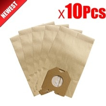 Bolsa de papel para aspiradora, bolsas para aspiradora philips T500 TC536 TC411 T300 T800 HR6938/10 HR6300 TC400 TC999, 10 unidades