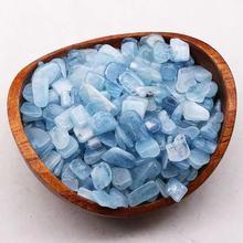 Pedras de aquamarine mineral pedra preciosa natural pedra preciosa cura cristais reiki decoração para casa
