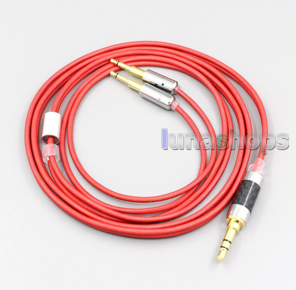 LN006663 2,5 мм 4,4 мм XLR 3,5 мм 99% чистый PCOCC кабель для наушников для SENNHEISER HD477 HD497 HD212 pro наушников