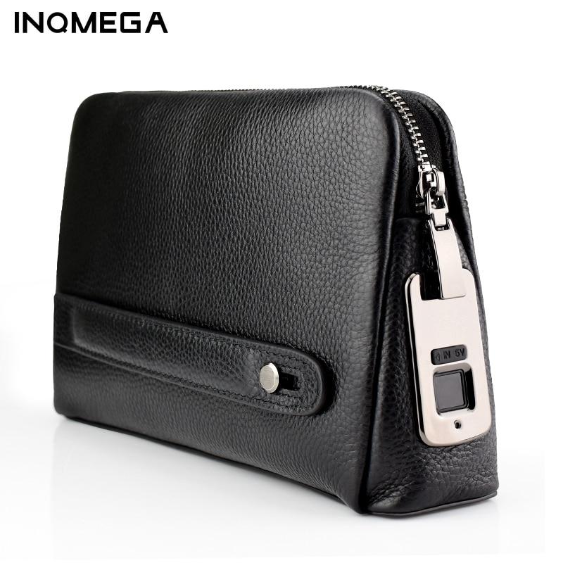 Противоугонные кошельки для мужчин, кожаная ручная сумка, мужские длинные кошельки для денег, мобильный телефон, мужская сумка-мессенджер, ...