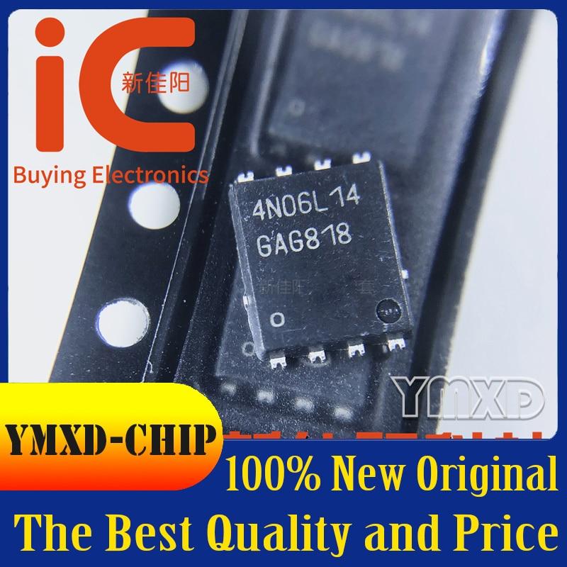 5 pçs/lote novo original IPG20N06S4L-14 tela de seda 4n06l14 pacote dfn8 em estoque
