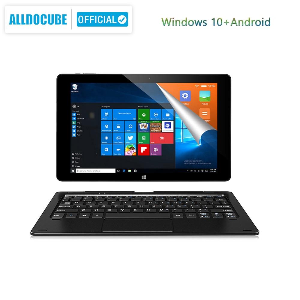 Alldocube iWork10 pro Tablet 10.1 inch  Intel Cherry-Trail Windows10 Android 5.1 Dual System RAM 4GB+ROM 64GB 1920*1200 IPS wifi