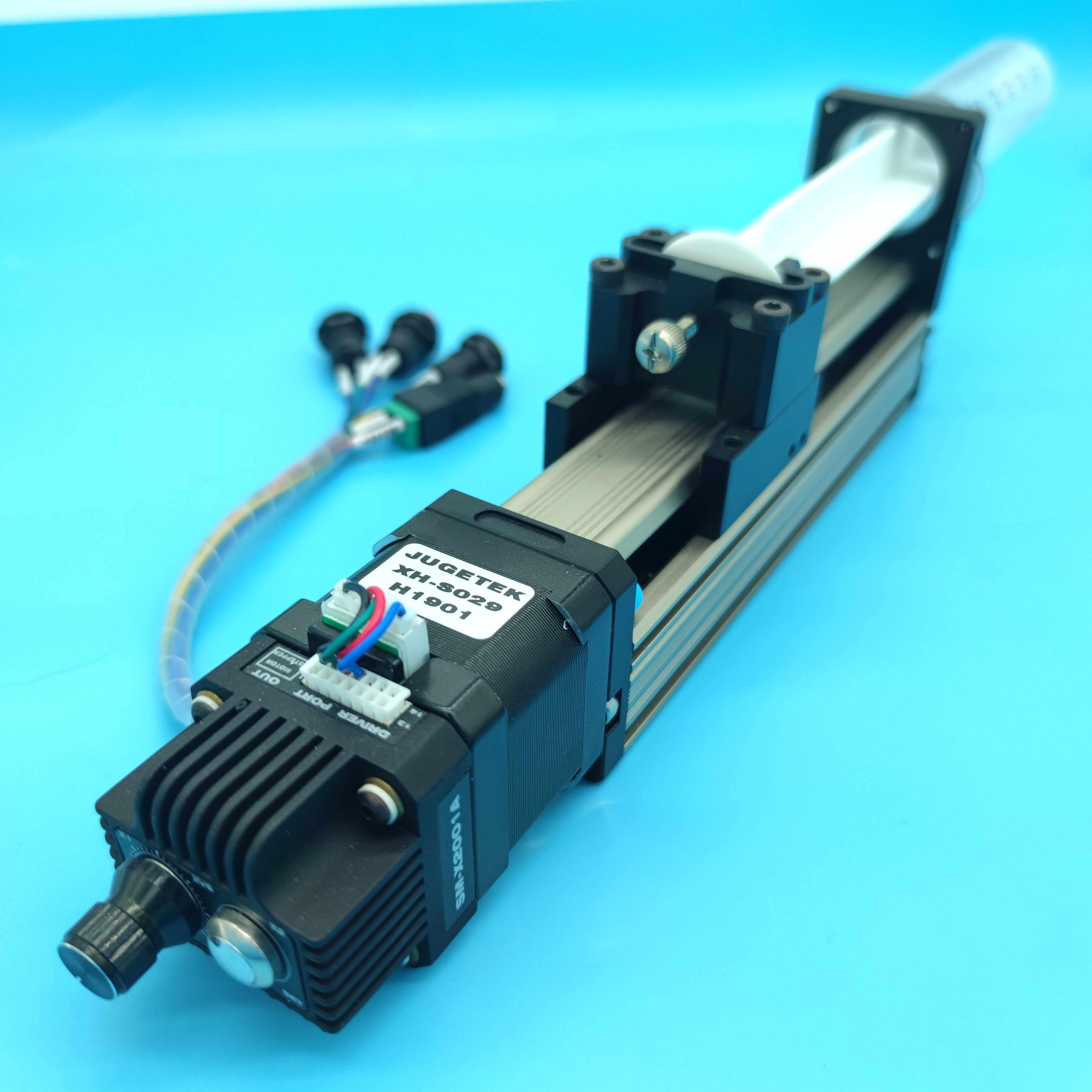 السائر الميكانيكيه الخطي وحدة 50 مللي حقنة مضخة مع Nema17 40 مللي متر السائر