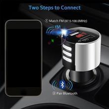 Bluetooth Handsfree Car Kit FM Transmitter Modulator Adapter Radio Charger MP3 Receiver Car Car Bluetooth Audio USB2.0 Play P9V8