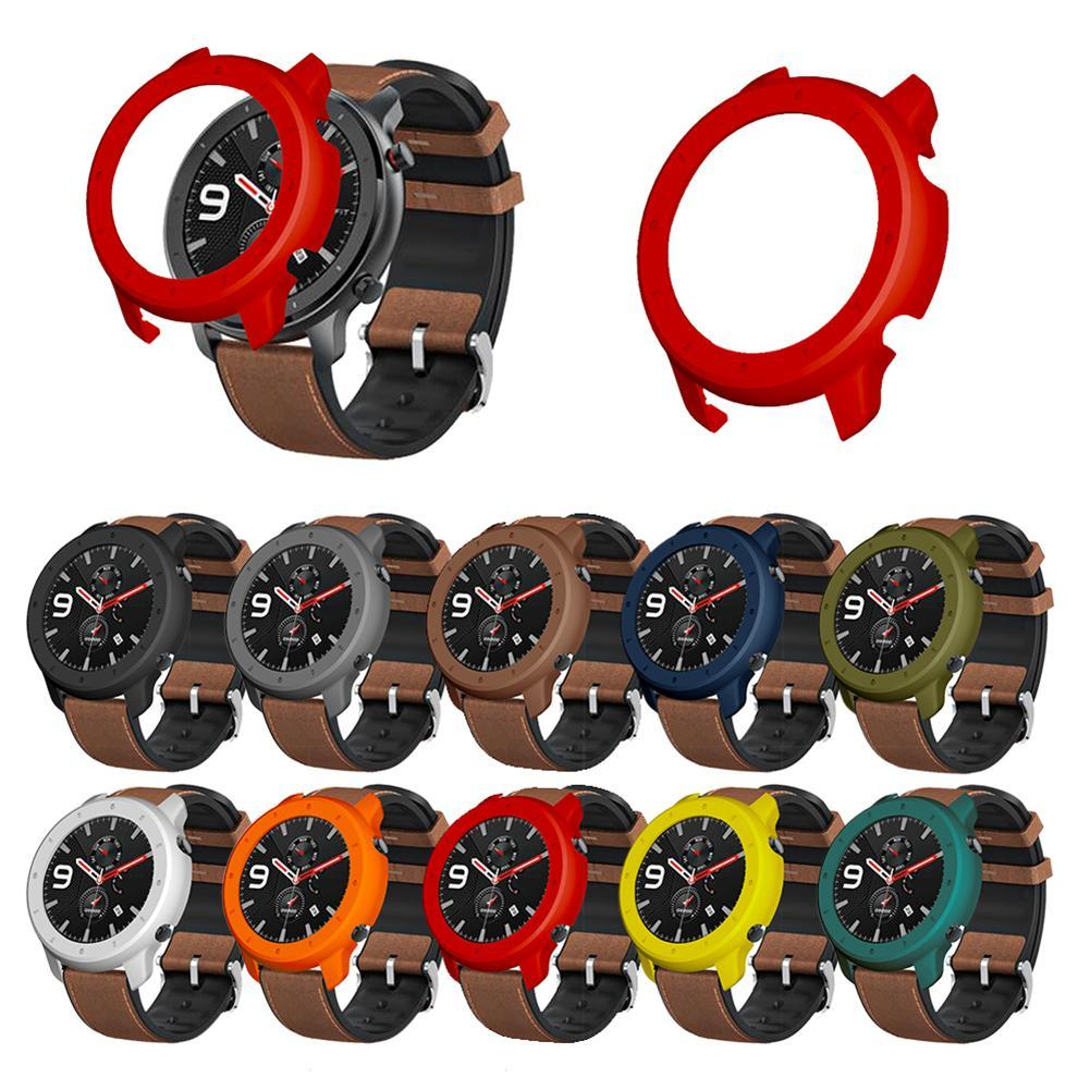 Soft Silicone Watch Protective Case Cover Protector for Amazfit GTR 42/47mm Smart Wearable Devices Accessories