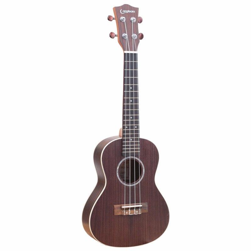 23 Inch Ukulele Full Rosewood Ukulele Soprano Beginner Ukulele Guitar Music Instruments Bass 4 String Hawaiian Small Guitarra