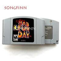 Conker Conkers Bad Fur Day USA versión 64bit, cartucho de juego