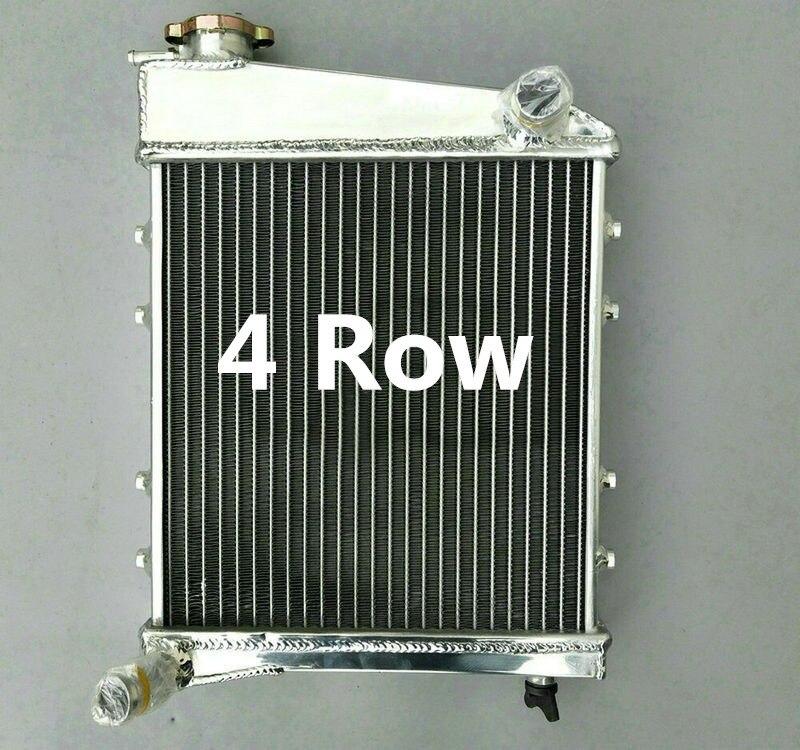 4 fila radiador de aluminio para AUSTIN ROVER MINI COOPER & MORRIS 1967-1991 90 89 88 80 70 77 75 68