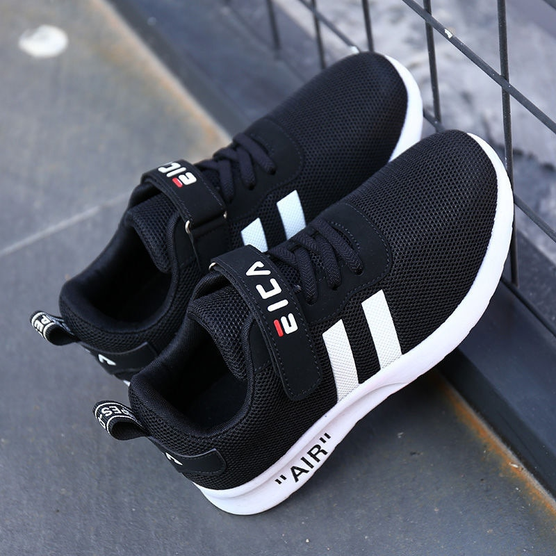 Kids Fashion Sneakers for Boys Girls Mesh Tennis Shoes Breathable Sports Running Shoes Lightweight Children Casual Walking Shoes enlarge