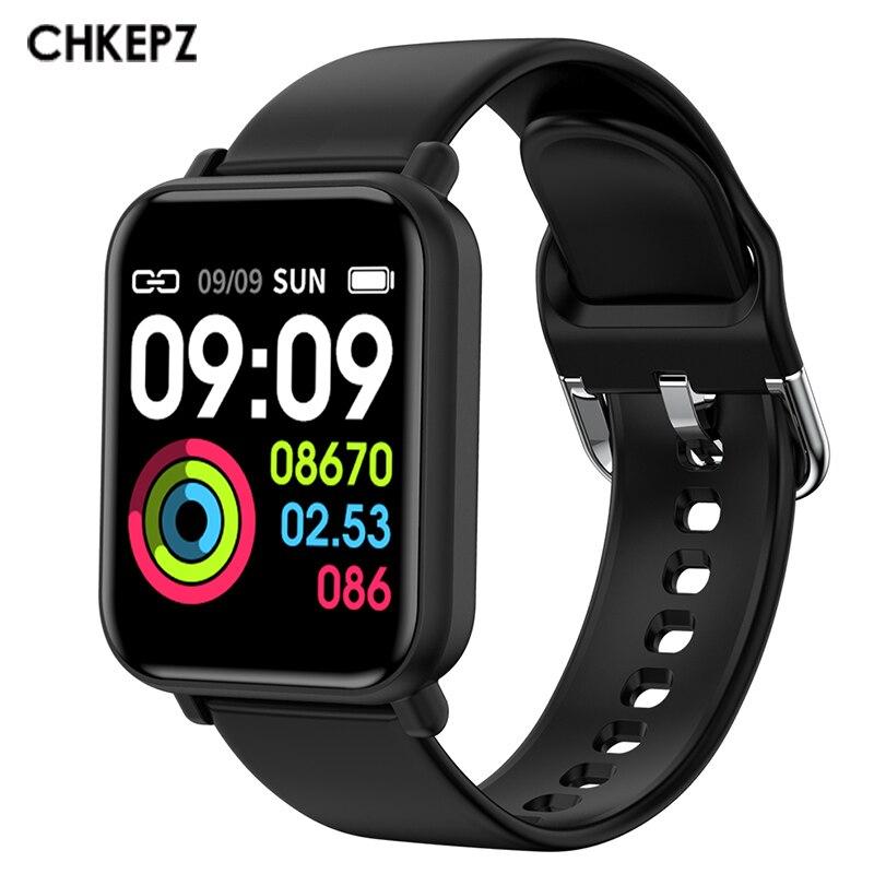 R16 Smart watches IP68 Waterproof Smartwatch android ios clock Heart Rate Monitor Women Smart watch Men PK B57 fitness bracelet