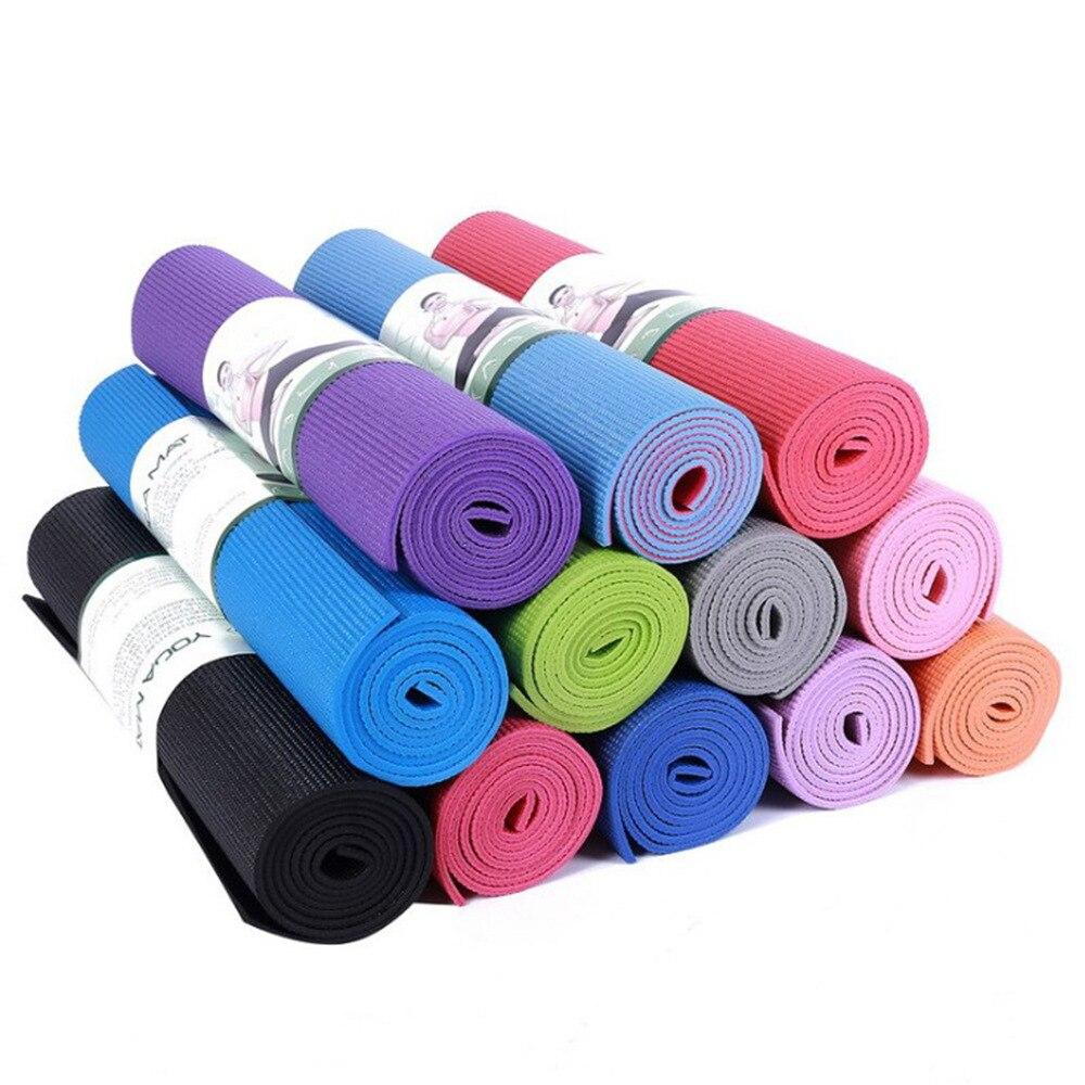 Fabricación suministro personalizable PVC 4mm esterilla de Yoga respetuoso con el medio ambiente fang hua dian zi deportes al aire libre pista de baile caliente