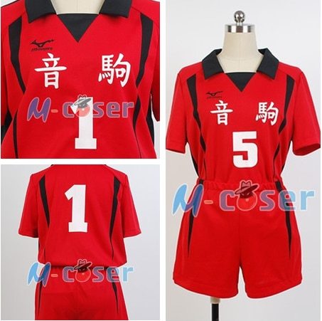 Haikyuu Nekoma High School 5 NO 1 Kenma Kozume Team Cosplay Costume Kuroo Tetsurou/kozumekenma Jersey Sports Wear Uniform